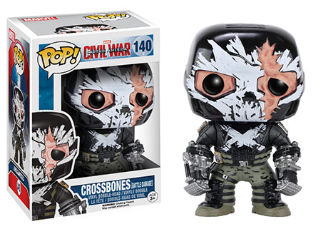 Target Exclusive Battle Damaged Crossbones POP Vinyls Figure