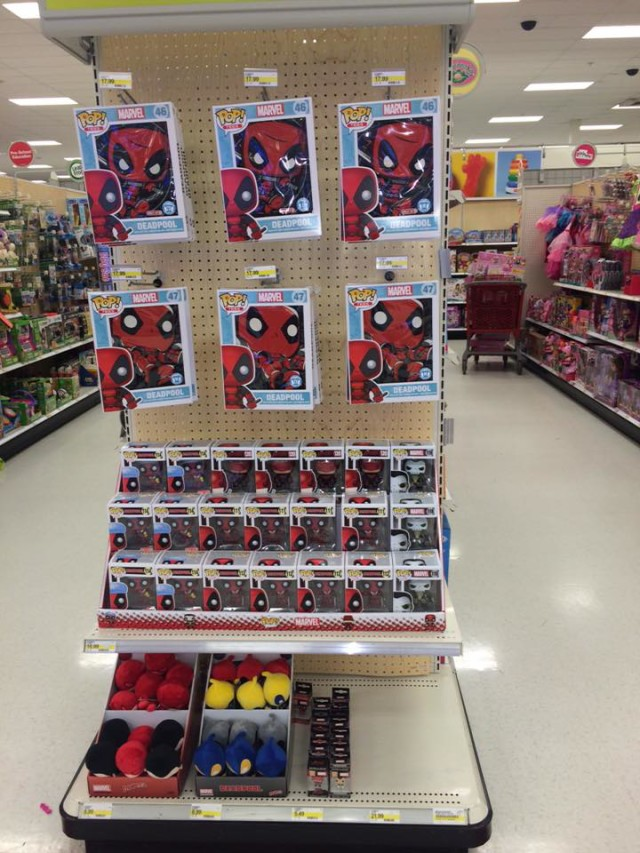 Unannounced Funko Deadpool Amp Daredevil Toys At Target