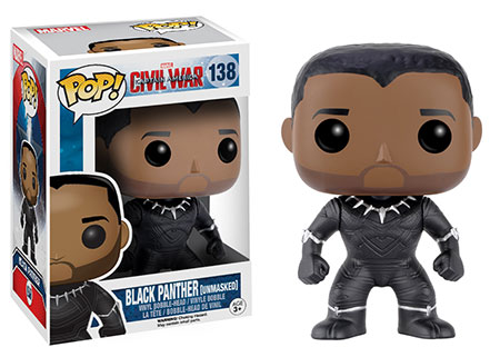 Walgreens Exclusive Unmasked Black Panther Funko POP Vinyls Figure