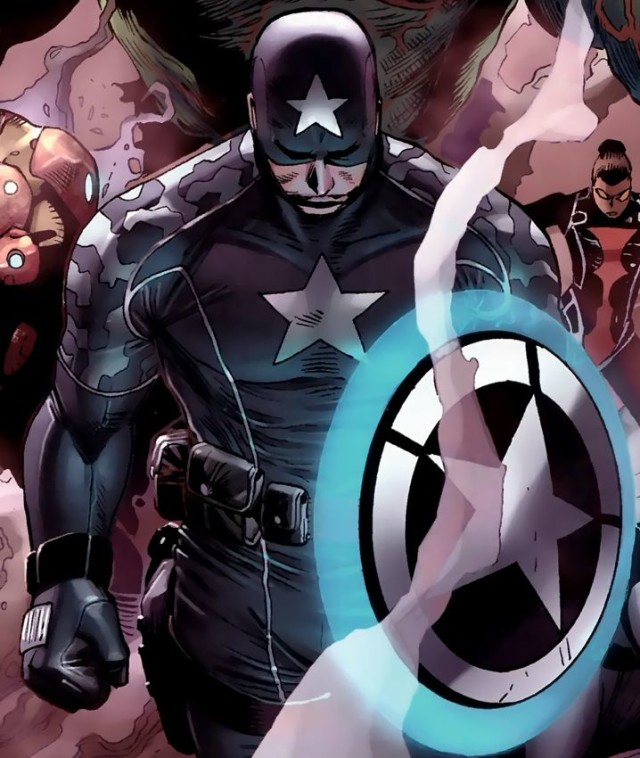 Age of X Captain America Cover