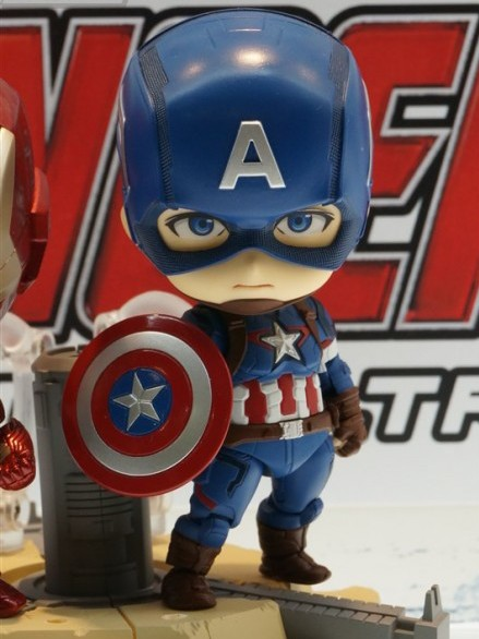 Avengers Age of Ultron Nendoroids Captain America Action Figure