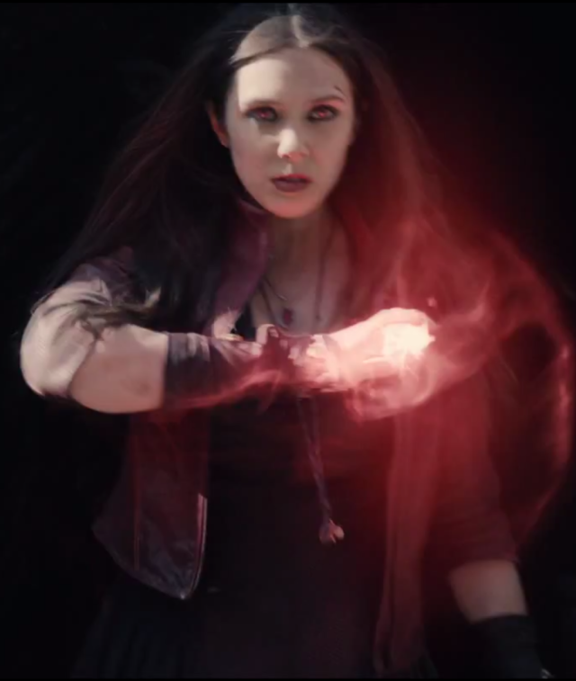 Avengers Scarlet Witch Elizabeth Olsen Screenshot