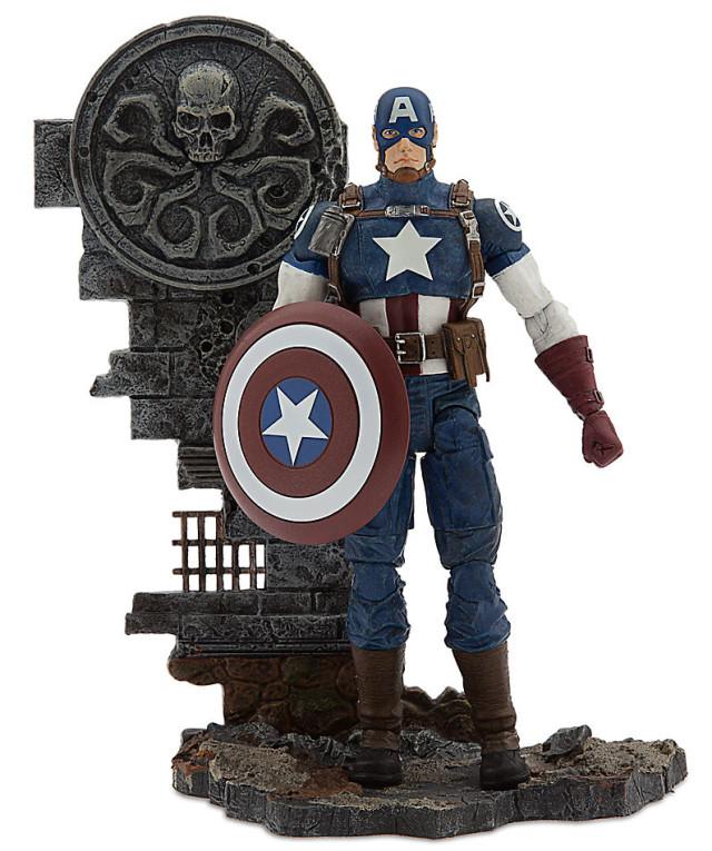 Avenging Captain America Disney Store Exclusive Marvel Select Figure