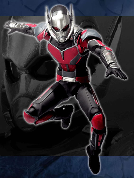 Bandai SH Figuarts Ant-Man Captain America Civil War Movie Figure