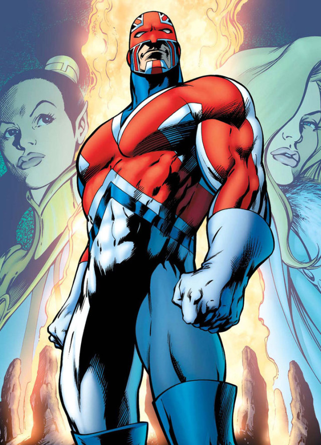 Captain Britain Brian Braddock Cover