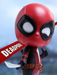 Deadpool Hot Toys Cosbaby Vinyl Figure