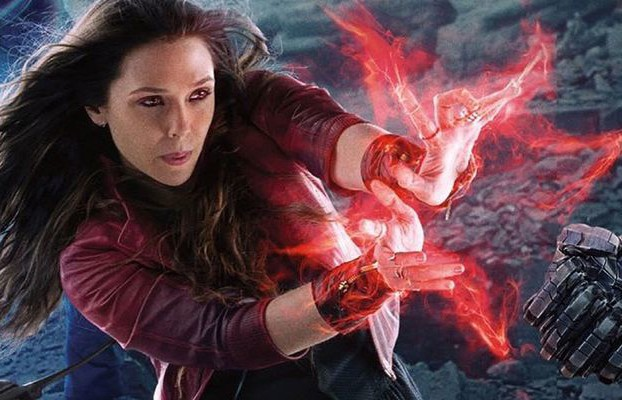 Elizabeth Olsen Scarlet Witch Screenshot Avengers Age of Ultron