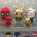 Toy Fair 2016: Funko POP Plush Spider-Gwen Loki Deadpool