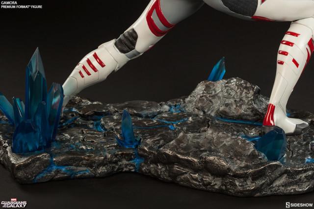 Gamora Premium Format Figure Base Rocky Terrain Crystals