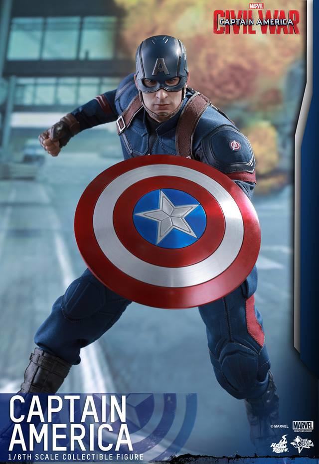 Hot Toys Captain America Civil War Shield