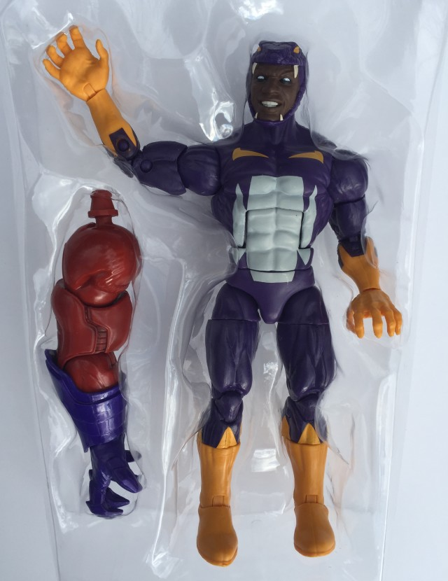 Marvel Legends Red Onslaught Build-A-Figure Arm with Cottonmouth