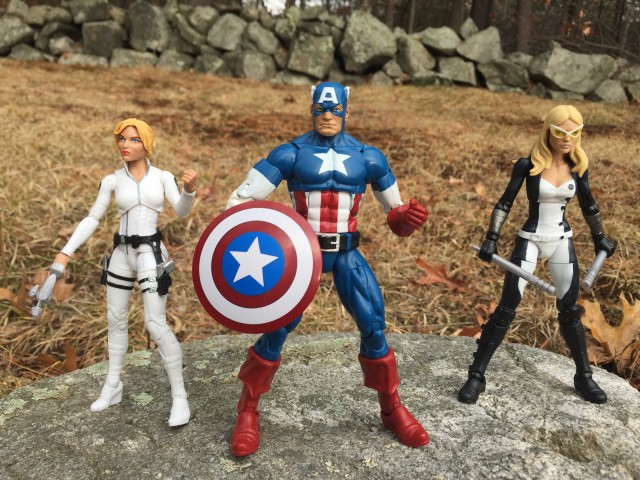 Marvel Legends 2016 Agents of Shield Sharon Carter & Mockingbird