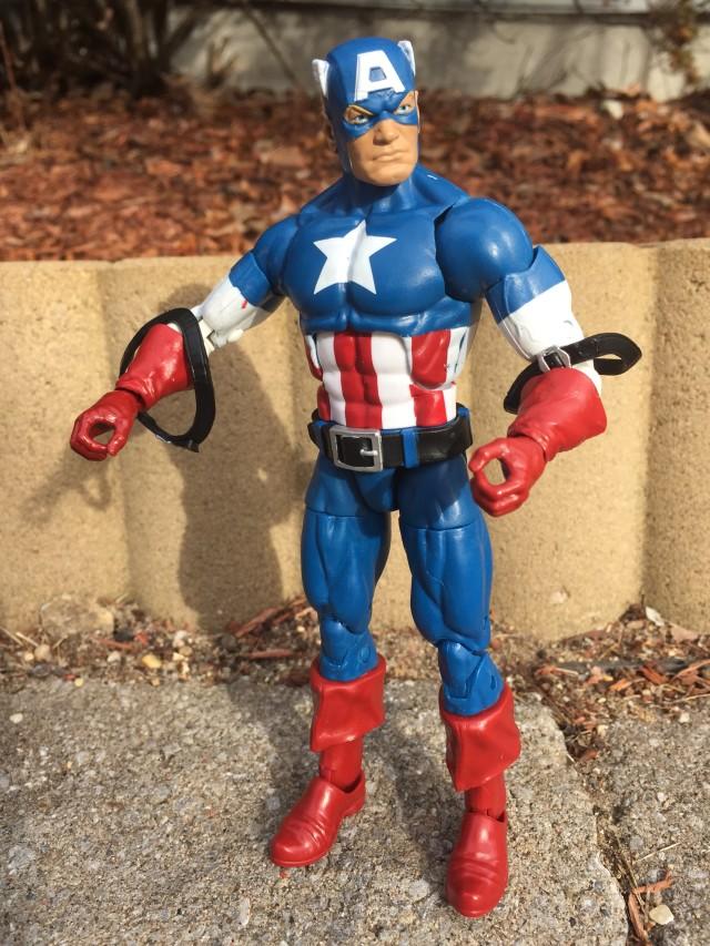 Captain America Legends Figure Shoulder Straps Falling Off
