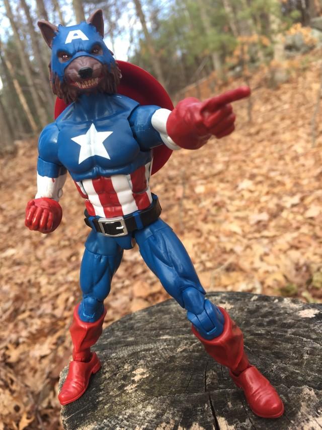 Marvel Legends Cap-Wolf Review
