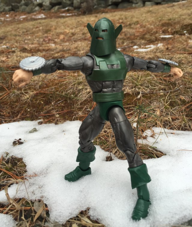 Marvel Villains Whirlwind Spinning with Saw Blades Hasbro Figure