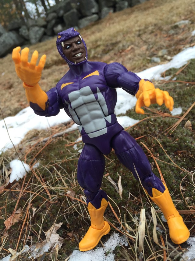 Captain America Marvel Legends Cottonmouth Figure Review