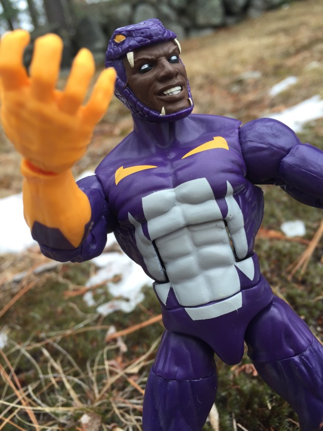 Marvel Legends Cottonmouth Review
