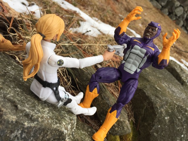 Captain America Legends Cottonmouth vs. Sharon Carter Figure