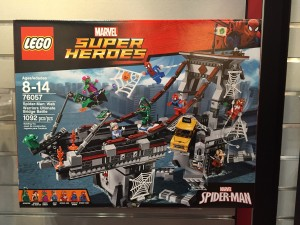 Toy Fair 2016 LEGO Marvel Ultimate Bridge Battle 76057 Box