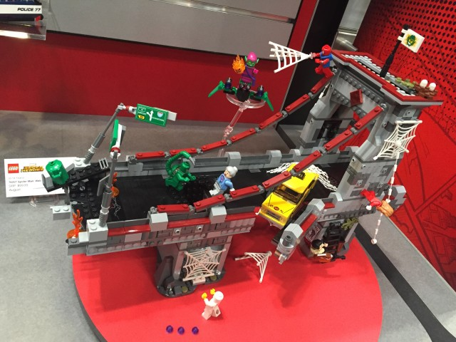Spider-Man Web Warriors Ultimate Bridge Battle LEGO Toy Fair 2016 Set