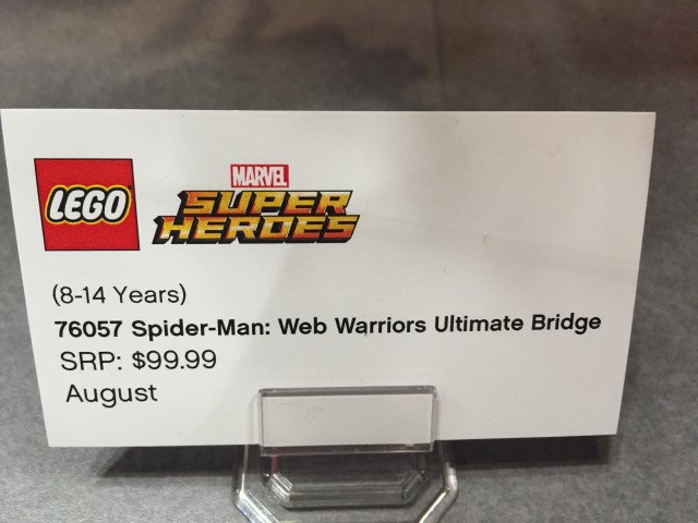 LEGO Marvel Spider-Man Web Warriors Ultimate Bridge Battle Price Release Date