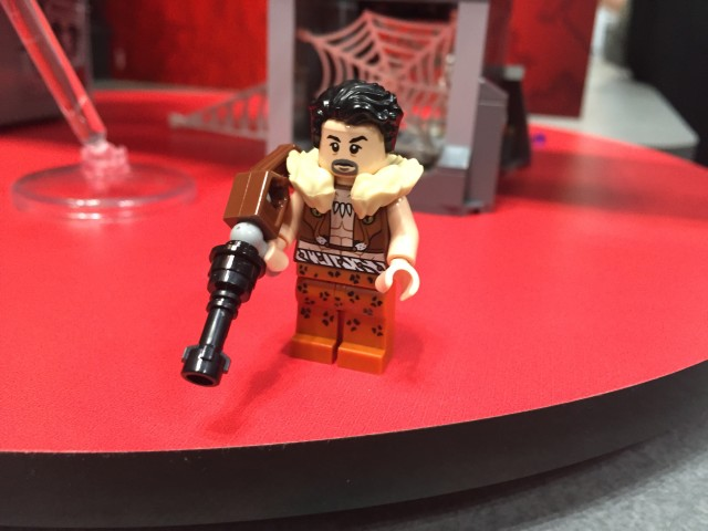 LEGO Kraven Minifigure with Rifle