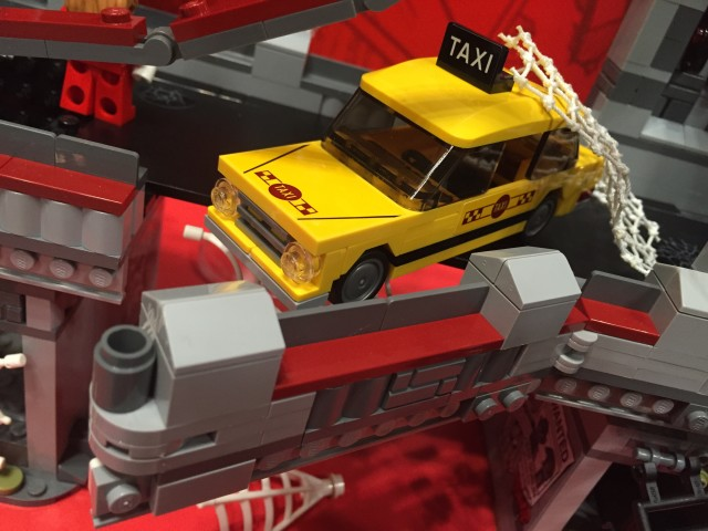 New York Toy Fair 2016 LEGO Taxi from 76057 Spider-Man Set