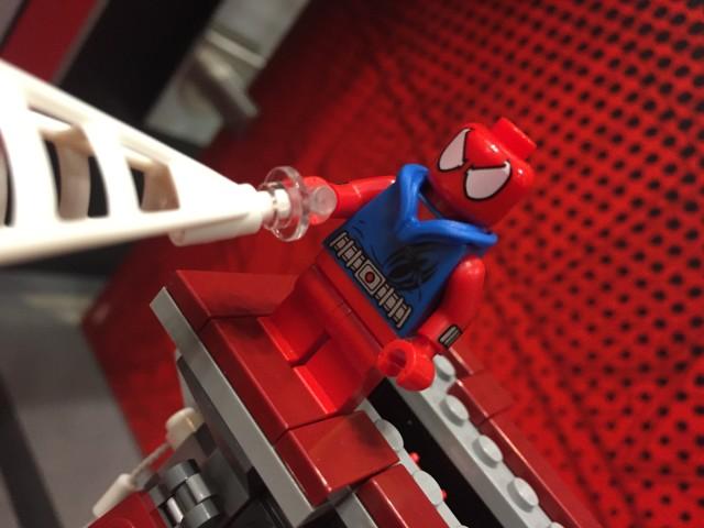 LEGO Scarlet Spider Minifigure