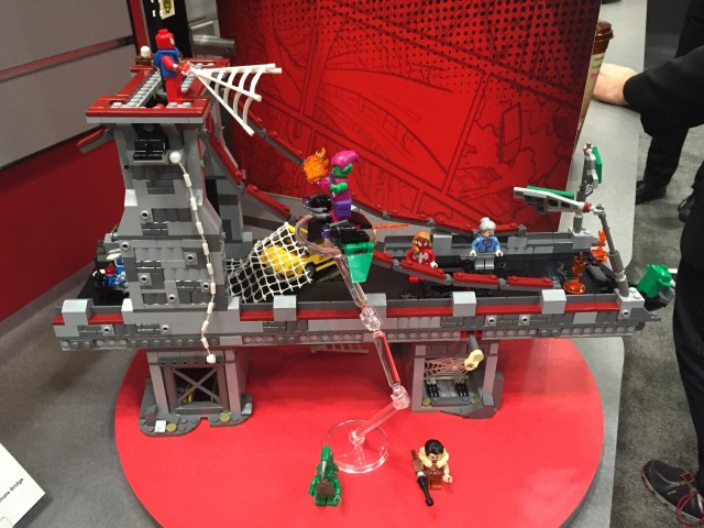 Toy Fair 2016 LEGO Spider-Man Web Warriors Ultimate Bridge Battle