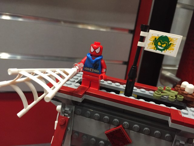 LEGO Web Warriors Ultimate Bridge Battle Goblin Nation Flag