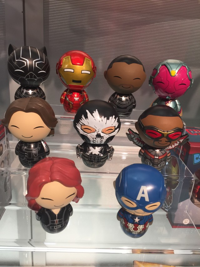 Funko Captain America Civil War Dorbz Figures with Chase Black Panther Unmasked