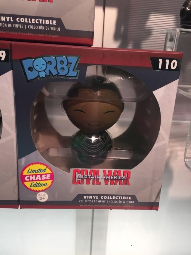 Funko Dorbz Chase Black Panther Unmasked Figure