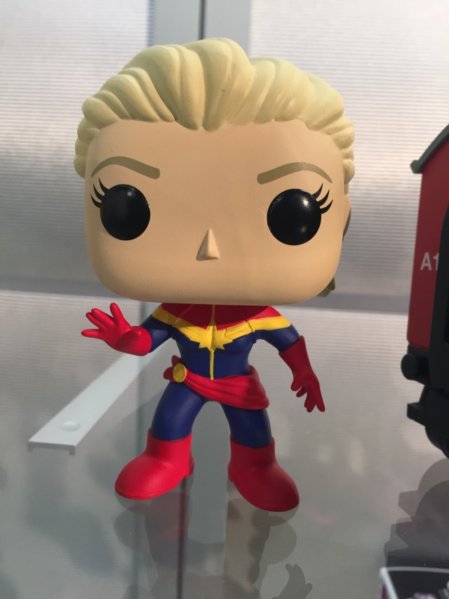 Funko Captain Marvel POP Vinyls Figure Toy Fair 2016