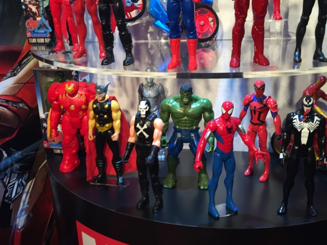 Marvel Titan Heroes New York Toy Fair 2016 Display