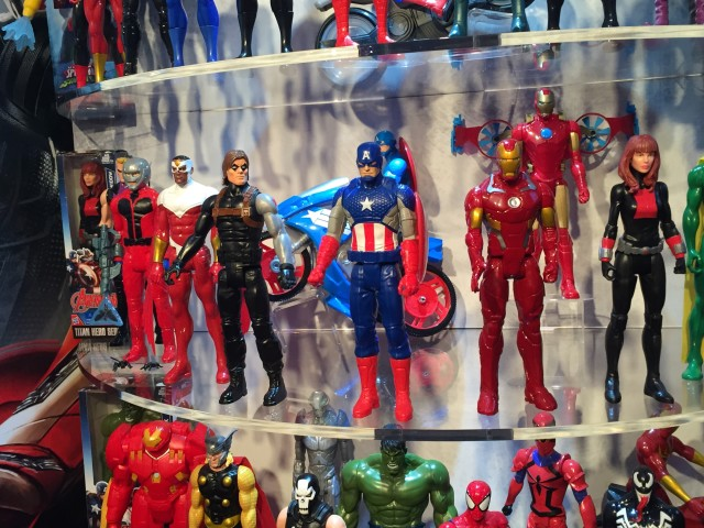 Hasbro Toy Fair 2016 Display Marvel Titan Heroes