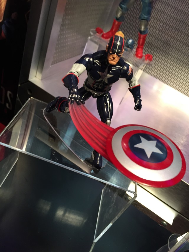 Marvel Legends 2016 Secret War Captain America Figure Toy Fair 2016