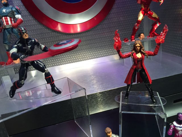 New York Toy Fair 2016 Marvel Legends Captain America Wave 3 Figures
