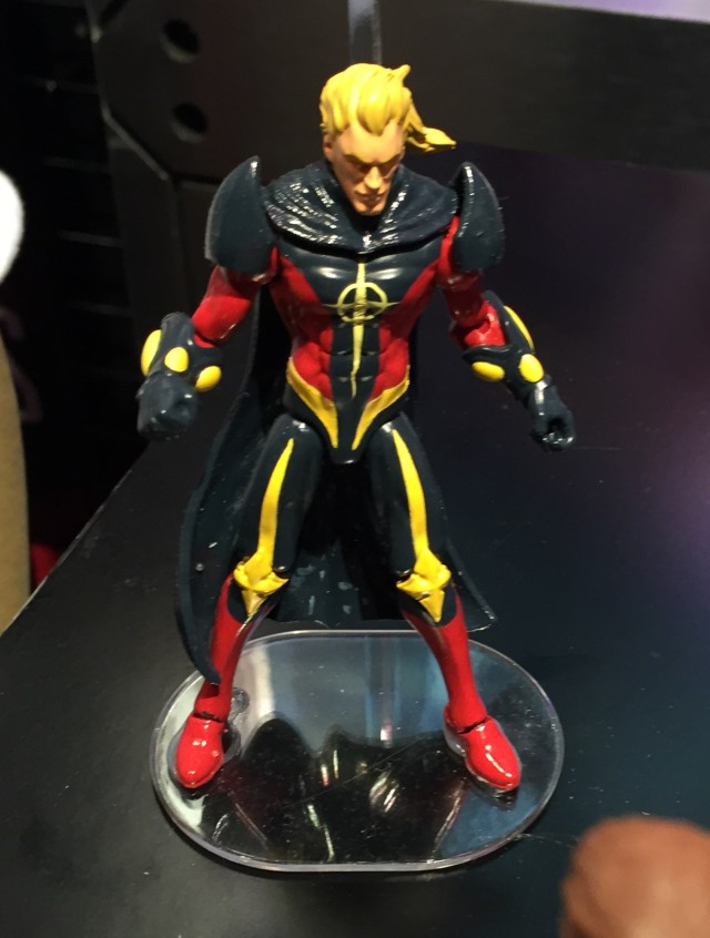 "Marvel Legends 4"" Quasar Action Figure Hasbro Toy Fair 2016"