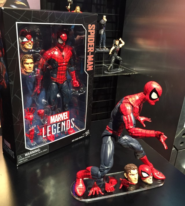 "12"" Marvel Legends Spider-Man Action Figure 2016"