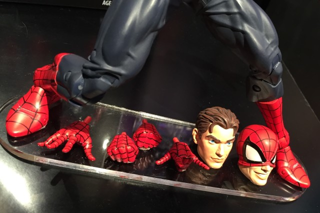 "Marvel Legends 12"" Spider-Man Peter Park Head Accessories"