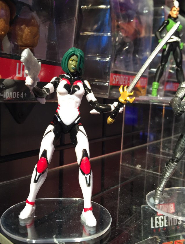 "Marvel Legends Gamora 4"" Figure Toy Fair 2016"