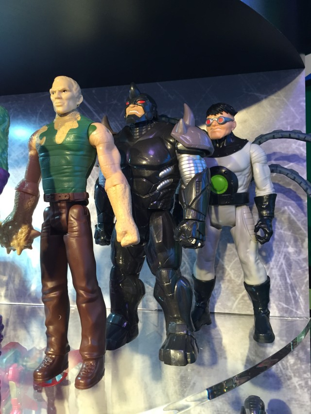 Toy Fair 2016 Titan Hero Sandman Rhino Doc Ock
