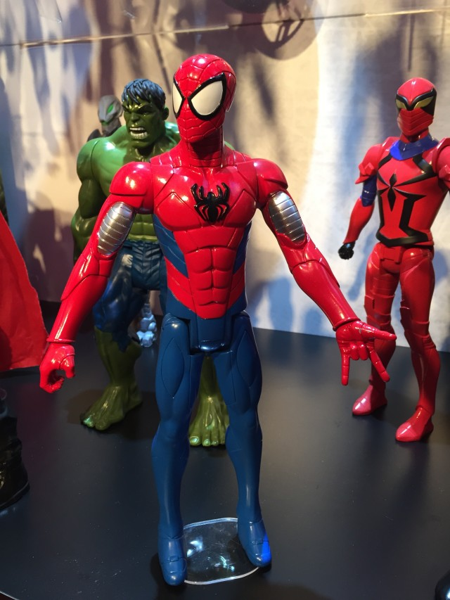 2016 Toy Fair Hasbro Titan Hero Spider-Man Action Figure