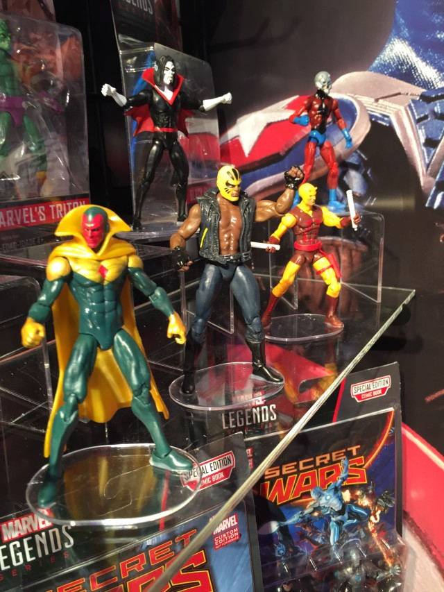 "New York Toy Fair 2016 Marvel Legends 3 3/4"" Figures Vision Rage"
