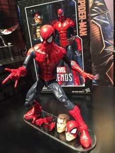 "New York Toy Fair 2016 Marvel Legends 12"" Spider-Man Figure"
