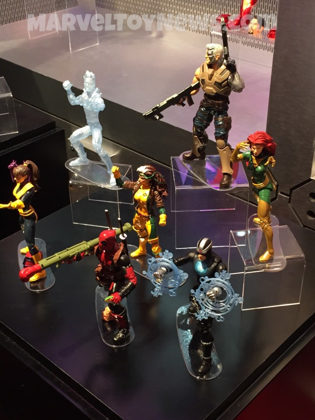 Marvel Legends X-Men Series at Toy Fair 2016
