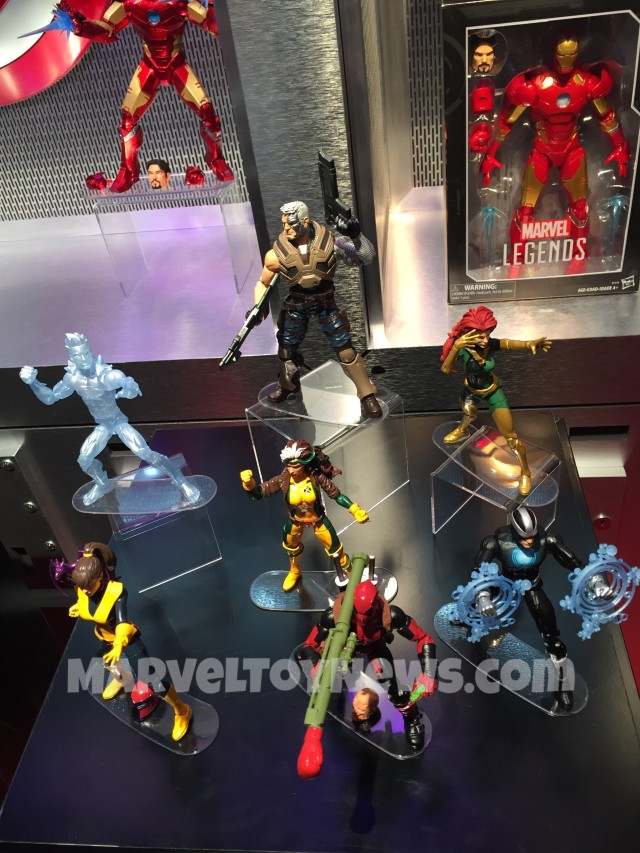 Marvel Legends X-Men Series 2016 New York Toy Fair