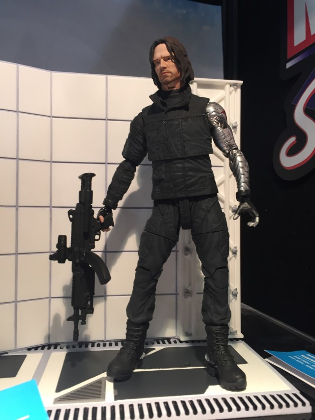 Marvel Select Civil War Winter Soldier Figure Toy Fair 2016