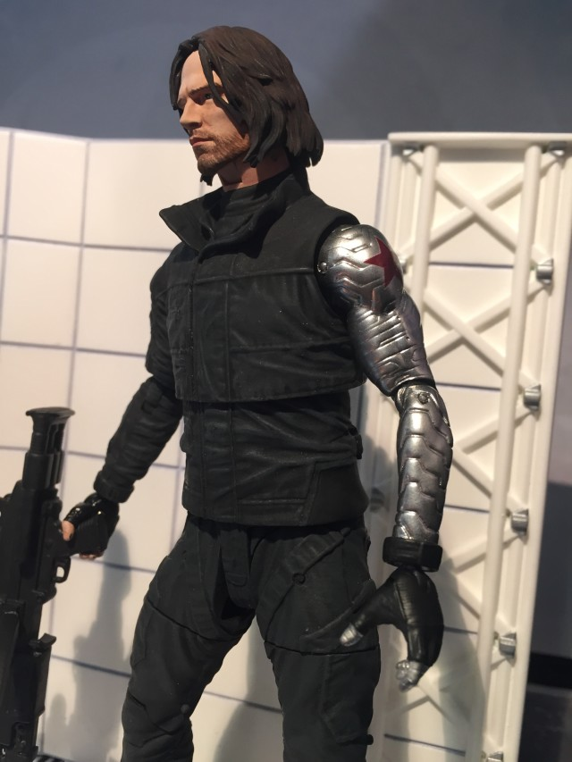 Marvel Select 2016 Captain America Civil War Winter Soldier Figure