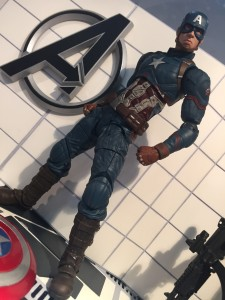 Marvel Select Civil War Captain America Figure Toy Fair 2016